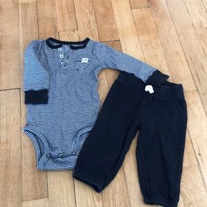 Carters matching set